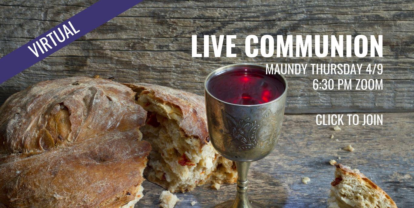 Maundy Thursday Web Slider