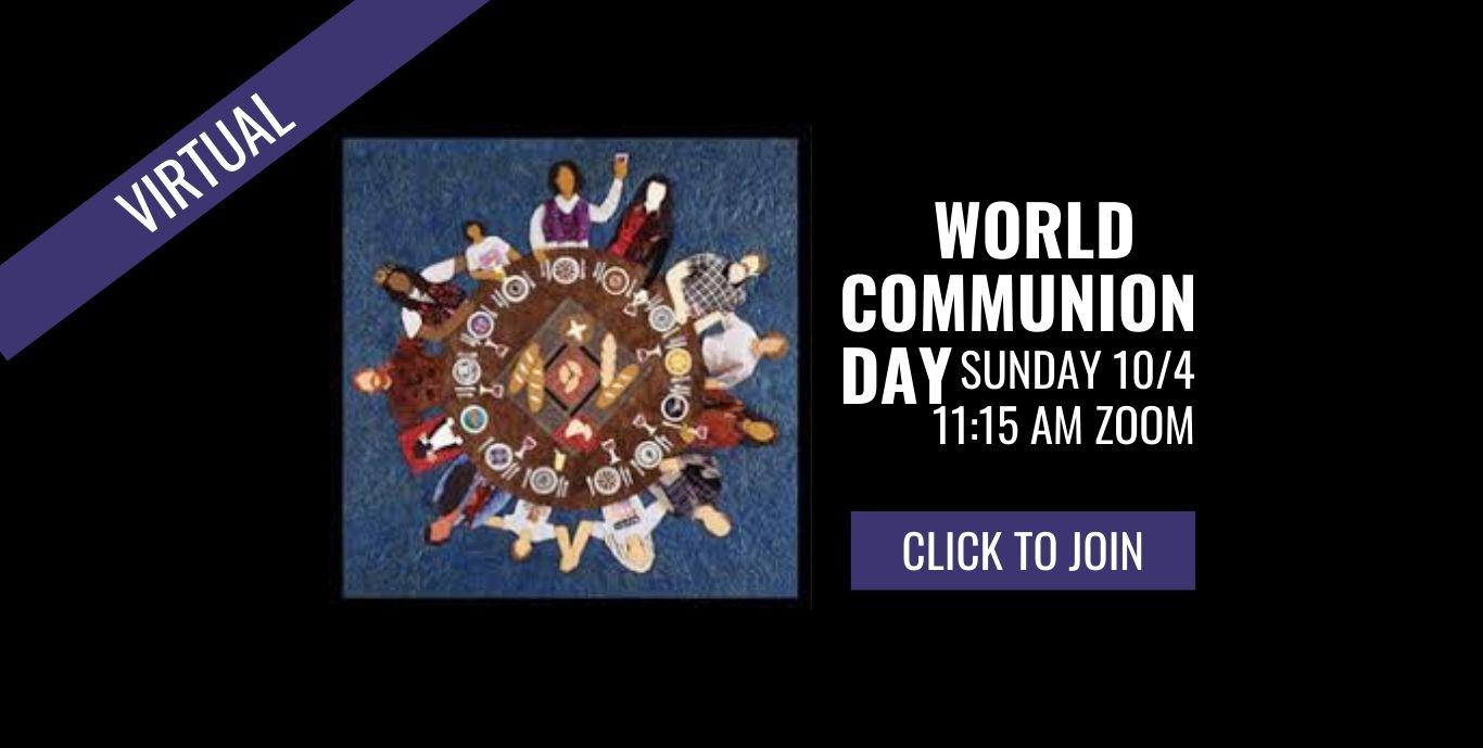 World Communion Day Web Slider